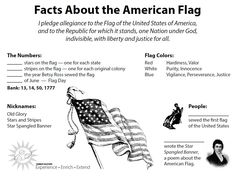Here are some fun and free ways for you to Experience, Enrich and Extend what you already know about the American Flag.
