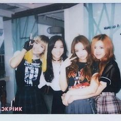 BLACKPINK polaroid photo