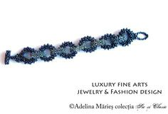 """Chic and classic collection by Adelina Maries, haute couture, luxury fashion, luxury handcrafts If you don`t know what chic is, than you are not chic. - """"Chic & Classic """" Romanian jewelry couture collection http://sicsiclasic.wordpress.com/ #Romania"""