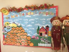 Our cute bulletin board for October