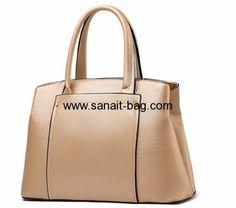 Custom design lady bag fashion tote bag single shoulder bag WT-242