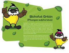 Para que conozcan que es el #Bichofué la mascota de los juegos mundiales en Cali #TWG2013