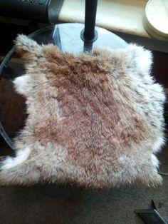 How to tan a rabbit pelt