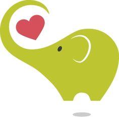 Baby elephant- kind of cute for nursery? Elephant Love, Elephant Nursery, Baby Clip Art, Patch Aplique, Woodland Creatures, Cute Illustration, Applique Designs, My Animal, Embroidery Applique