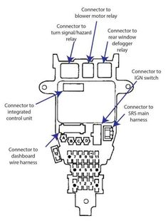 20 Ide Wiring Diagram Honda 92 Terbaik Di 2020 Diagram Honda Accord Honda