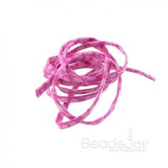 Liberty of London Pink Print 4mm Ribbon Cord Glenjade