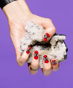 5 Salons That Are Bringing Back Nail Art #refinery29  http://www.refinery29.com/nail-art-designs