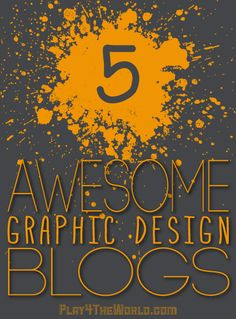This is a list of 5 Awesome Graphic Design Blogs full of great content and useful freebies. I always check these blogs often for inspiration and news.