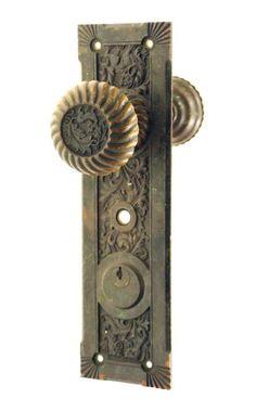 Charmant Empire Bronze Entry Door Set