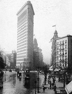 The Flatiron building, New York City. The tallest ever, in its day, but still completely gorgeous.