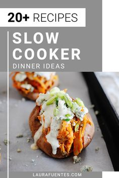 These slow cooker meals are delicious, healthy, and require low effort for easy weeknight dinners and meal prep. Healthy Slow Cooker, Slow Cooker Soup, Slow Cooker Recipes, Crockpot Recipes, Easy Recipes, Skinny Recipes, Healthy Dinner Recipes, Real Food Recipes, Dessert For Dinner