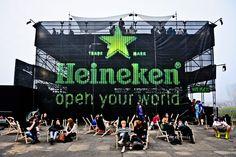 Heineken Open'er Festival Poland 2012,  creative idea, scenography and production Horeca Group