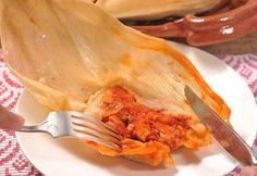 Tamales rojos de pierna   Cocina y Comparte   Recetas de @cocinaalnatural