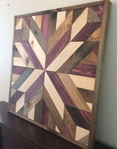 Reclaimed wood wall art rustic wall decor farmhouse decor wood art in Reclaimed Wood Wall Art, Barn Wood, Wood Art, Rustic Wall Decor, Rustic Walls, Farmhouse Decor, Cool Wood Projects, Diy And Crafts Sewing, Barn Quilts