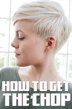 If you're thinking about giving your hair the chop – why not just go out and do it? Decisions like this are often difficult to make, but remember that it is just hair at the end of the day.