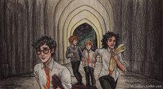 """The Marauders blew up Filch's office!""  -- Professional Pranksters by incredibru.deviantart.com on @DeviantArt"