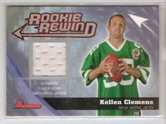 Nfl Football NY Jets Bowman Rookie QB Jersey card