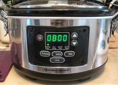Slow Cooker With Timer Slow Cooker With Timer, Best Slow Cooker, Crockpot, Products, Healthy Slow Cooker, Crock Pot, Slow Cooker, Beauty Products, Electric Pressure Cooker