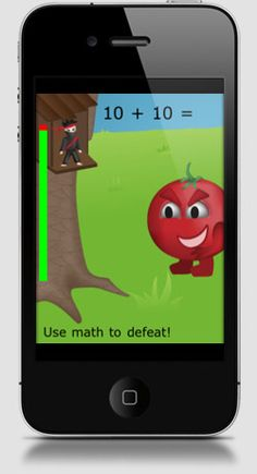 my kids love math ninja (pictured), link has 50 kid iphone apps