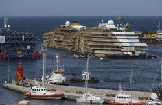 Come spring, the Costa Concordia will be towed to a port in Italy where it will be scrapped.