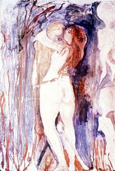 Edvard Munch...not sure what it's called..but love it!