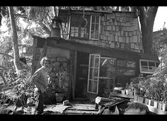 In 1967, on the Esalen Institute's property in Big Sur, California, jewelry designer Goph Albitz was mining the possibilities of outsider architecture for himself and drawing inspiration from old Esalen buildings such as the Waterfall House and Selig Morgenrath's design of the Fritz Perls House.
