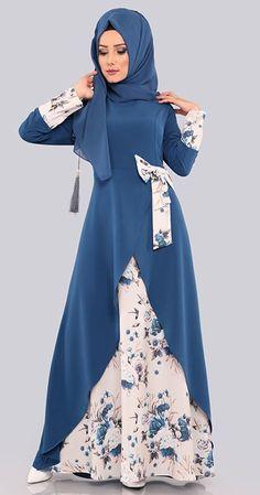 Hijab Fashion Summer, Modern Hijab Fashion, Muslim Women Fashion, Modesty Fashion, Islamic Fashion, Abaya Fashion, Fashion Outfits, Moslem Fashion, Muslim Dress
