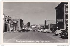 RP: Main Street , GRANGEVILLE , Idaho , 30-40s