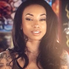 """Sky from """"Black Ink Crew"""" just got a new backside and she wants the world to know. Description from butthatsnoneofmybusiness.com. I searched for this on bing.com/images"""