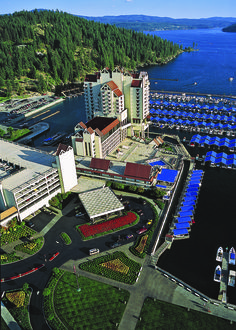 Enjoy the beauty of the Pacific Northwest in Idaho's Coeur d'Alene.