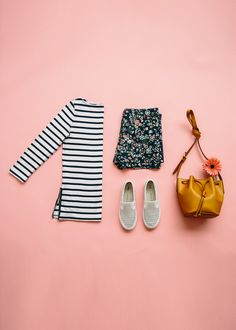 Mixing prints is one of our favorite trends for summer. Pair stripes with florals for a stylish warm weather look. Shop all new summer arrivals from Gap.