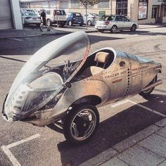 This three wheeled #motorcycle has been used for the past 20+...