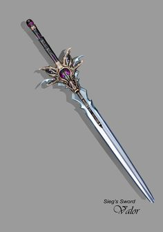 Sieg's Sword by Lee99.deviantart.com on @deviantART