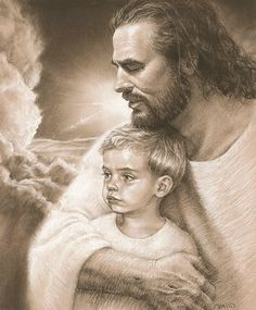 """""""Forever"""" - art by David Bowman; art to comfort a family whose son died in a tragic accident"""