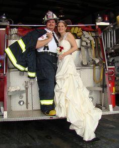 Firefighter Wedding Hastings