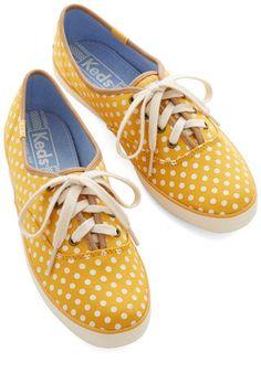 KEDS Night Classics Sneaker in Yellow