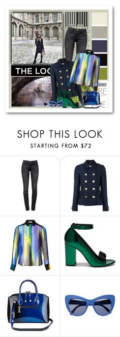 """""""All is Calm, All is Bright"""" by seafreak83 ❤ liked on Polyvore featuring Current/Elliott, Burberry, Matthew Williamson, Mulberry and STELLA McCARTNEY"""