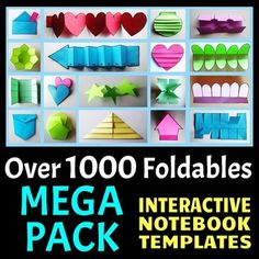 Interactive Notebook Templates (1000+ Editable Foldables - Commercial Use Okay)
