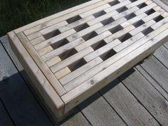 2x4s bench