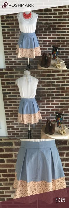 Spotted while shopping on Poshmark: Alice Moon A-line Lace Hemmed Skirt! #poshmark #fashion #shopping #style #Alice Moon #Dresses & Skirts