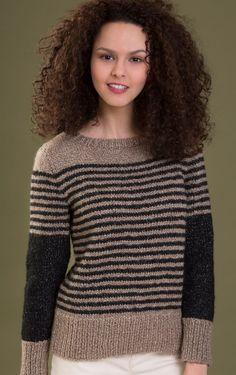 Spirit Pullover in Zona Knitting Pattern Download