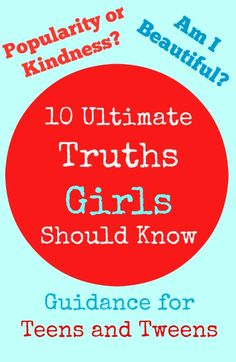 """10 Ultimate Truths Girls Should Know""  How blogger Allison Hendrix is using this new book for teen & tween girls and teaching high school girls to mentor junior high girls."