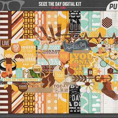 Free Digital Scrapbooking Kit - Project Life
