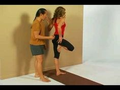 Rodney Yee and Colleen Saidman Demonstrate Tree Pose - YouTube