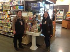 And on to Davis. What a great team--they built this display and got it up and smelling good in no time. Thanks!