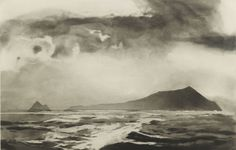 norman ackroyd - blasket, county kerry, etching (from 'ireland / galway bay to cork city' series) , 2008