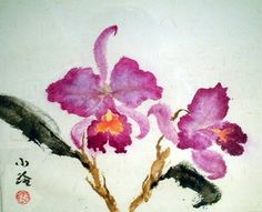 dorothy chan chinese brush paintings