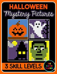 Halloween! Students solve the addition or subtraction equation in each box. Then, they color according to the coloring key. This is a FUN way to build math fluency! NOTE: This store also has multiplication and division mystery pictures for every holiday.