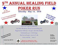Poker Run for the Healing Field