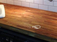 Ikea butcher block countertop review